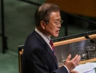 Moon urges US move towards formally ending Korean War