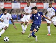 Football: Japan v Panama international friendly result