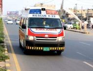 Seven passengers killed in road accident in Muzaffargarh