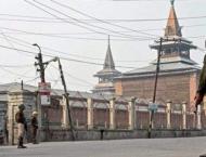 Friday prayers not allowed at Srinagar Jamia Masjid
