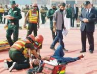 Minister admires professional expertise of rescuers