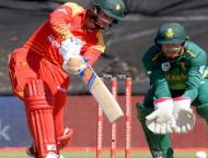Williams lifts Zimbabwe to 132-7 against South Africa