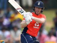 Morgan hits 92 as England make 278 in 2nd Sri Lanka ODI