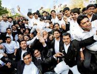 Lawyers observe token strike in Faisalabad