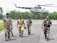 Central Reserve Police Force (CRPF) troops beat up reporters in I ..