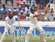 Cricket: India v West Indies 2nd Test scoreboard