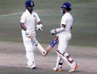 Pant, Rahane give India control in 2nd West Indies Test