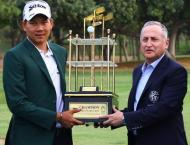 Mr Tirawat Kaewsiribandit Clinches Title Of Cns Open Asain Tour G ..