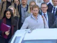 Royal couple Prince Harry, Meghan arrive in Sydney
