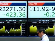 Tokyo's Nikkei index down more than 1.8% 15 October 2018