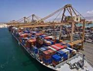 Shipping activity at Port Qasim 15 October 2018