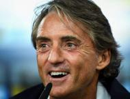 Mancini off the mark as Italy awaken after winless year