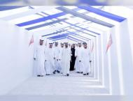Mohammed bin Rashid reviews Route 2020 Stations construction prog ..