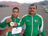 Pakistan Olympic Association felicitates wrestler Inayat