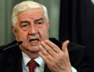 Syrian Foreign Minister Rules Out Country's Federalization