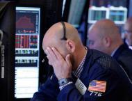 US stocks open mostly lower after last week's turmoil