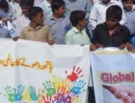 Global Handwahsing Day observed in Rawalpindi