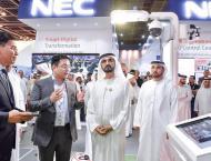 Mohammed bin Rashid tours GITEX 2018
