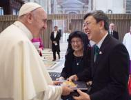 Pope Francis Accepts Invitation to Visit Taiwan in 2019 - Vice Pr ..