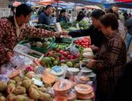 China prices rise as cost of food spikes