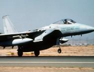 Saudi Air Force plane crashes during training mission