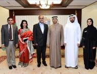 Human Resources and Emiratisation minister meets with Bahraini Am ..