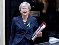 Britain's Prime Minister Theresa May confronts EU leaders amid Br ..