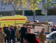 Body of Kerch Shooting Suspect Found in College With Gunshot Woun ..