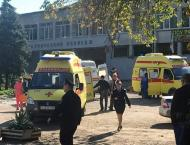 Crimea college blast caused by 'unidentified explosive device': n ..