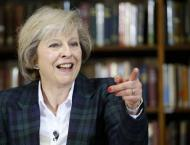 UK Prime Minister Theresa May Expects Brexit Transition Period t ..