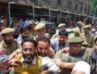 Indian police arrest Nisar, Waza in IOK