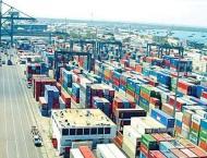 Shipping activity at Port Qasim 18 Oct 2018