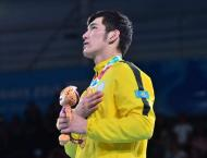 Kazakh boxer pockets gold medal at Youth Olympics