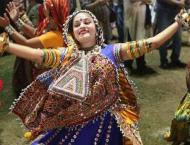 Hindu community celebrates Navaratri festival