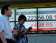 Tokyo shares fall on global jitters 19 October 2018