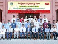 AJK In-Service Livestock Professionals complete one month Refresh ..