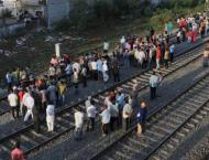 37 trains canceled, several diverted after train mows down crowd  ..