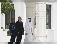 Mohamed bin Zayed receives Bulgarian PM