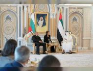 Mohamed bin Zayed, Bulgarian Prime Minister discuss cooperation,  ..