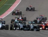 Formula One:United States Grand Prix results on Sunday
