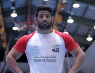 Iran freestyler grabs bronze in Hungary World Champs
