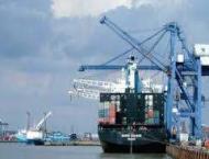 Shipping activity at Port Qasim 23 October 2018