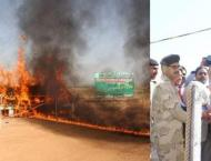 Anti Narcotics Force destroys 403.882 kg confiscated drugs