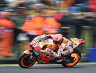World champ Marquez grabs Australian Moto GP pole