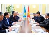 Kazakh, Kyrgyz FMs agreed to strengthen strategic partnership