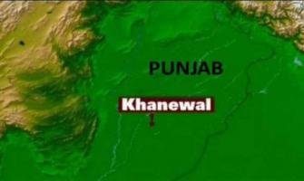 Two suspects held during search operation in Khanewal