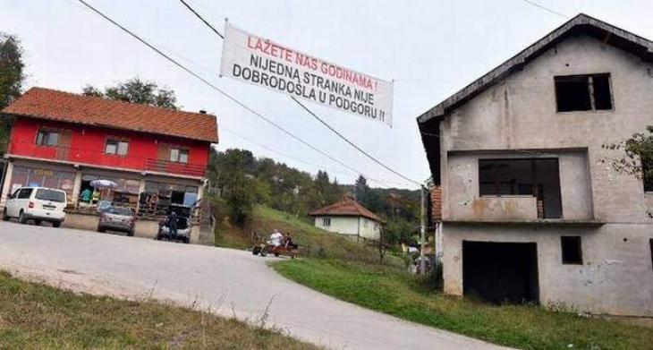 'Enough lies!': Bosnian village bans politicians