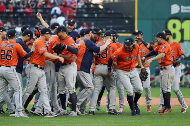 a3a31bf5b Astros, Dodgers Win To Advance In MLB Playoffs, Red Sox Roll - UrduPoint