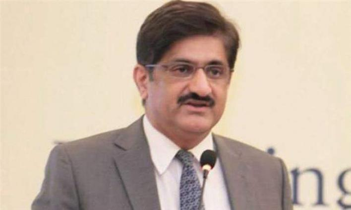 Sindh Chief Minister gives world's highest snorkel for Karachi, 10 fire tenders to local bodies