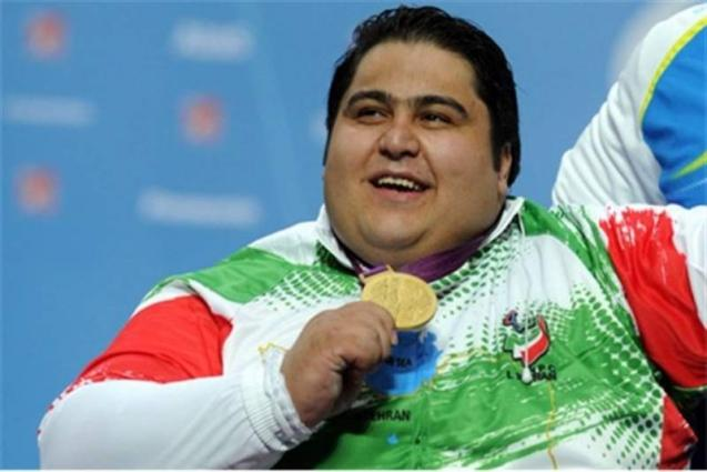 Iranian powerlifter breaks new records in Asian Para Games